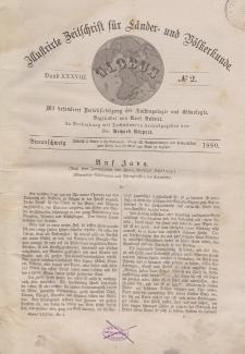 Globus. Illustrierte Zeitschrift für Länder...Bd. XXXVIII, Nr.2, 1880