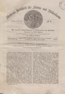 Globus. Illustrierte Zeitschrift für Länder...Bd. XXXVIII, Nr.4, 1880