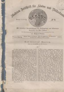 Globus. Illustrierte Zeitschrift für Länder...Bd. XXXVIII, Nr.9, 1880