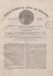 Globus. Illustrierte Zeitschrift für Länder...Bd. XXXVIII, Nr.13, 1880