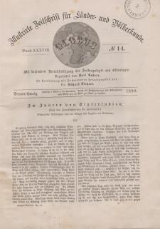 Globus. Illustrierte Zeitschrift für Länder...Bd. XXXVIII, Nr.14, 1880