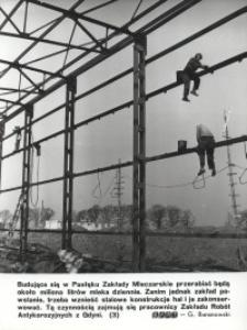 Konstrukcja stalowa Zakładu Mleczarskiego w Pasłęku