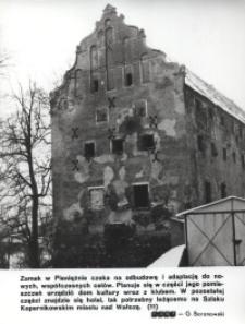 Zamek w Pieniężnie