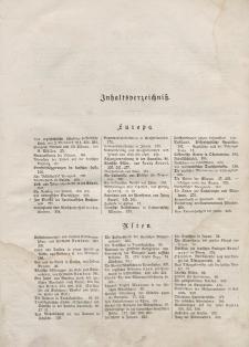 Globus. Illustrierte Zeitschrift für Länder...(Inhaltsverzeichniß), Bd. XVI, 1869