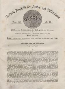 Globus. Illustrierte Zeitschrift für Länder...Bd. XVI, Nr.11, Oktober, 1869
