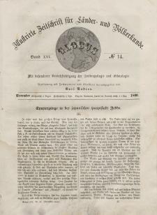 Globus. Illustrierte Zeitschrift für Länder...Bd. XVI, Nr.14, November, 1869