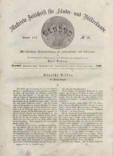 Globus. Illustrierte Zeitschrift für Länder...Bd. XVI, Nr.16, Dezember, 1869