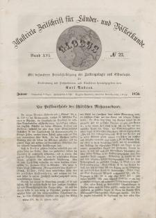 Globus. Illustrierte Zeitschrift für Länder...Bd. XVI, Nr.23, Januar, 1870