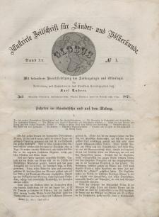 Globus. Illustrierte Zeitschrift für Länder...Bd. XX, Nr.1, 1871