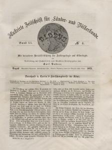 Globus. Illustrierte Zeitschrift für Länder...Bd. XX, Nr.4, 1871