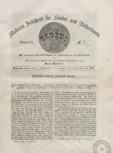 Globus. Illustrierte Zeitschrift für Länder...Bd. XX, Nr.7, 1871