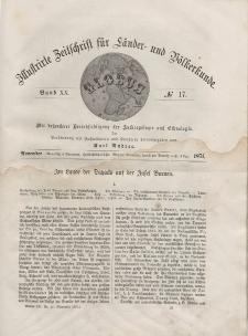 Globus. Illustrierte Zeitschrift für Länder...Bd. XX, Nr.17, 1871