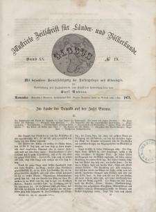 Globus. Illustrierte Zeitschrift für Länder...Bd. XX, Nr.19, 1871