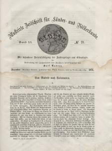 Globus. Illustrierte Zeitschrift für Länder...Bd. XX, Nr.21, 1871