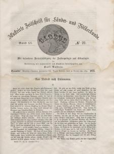 Globus. Illustrierte Zeitschrift für Länder...Bd. XX, Nr.22, 1871
