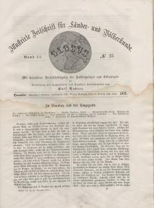 Globus. Illustrierte Zeitschrift für Länder...Bd. XX, Nr.23, 1871