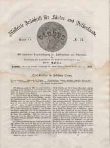 Globus. Illustrierte Zeitschrift für Länder...Bd. XX, Nr.24, 1871