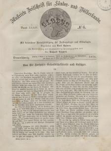 Globus. Illustrierte Zeitschrift für Länder...Bd. XXXIV, Nr.6, 1878