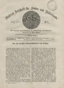 Globus. Illustrierte Zeitschrift für Länder...Bd. XXXIV, Nr.7, 1878
