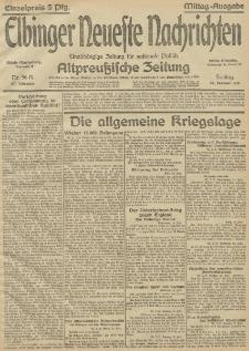 Elbinger Neueste Nachrichten, Nr.56 Freitag 26 Februar 1915 67. Jahrgang