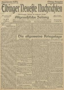 Elbinger Neueste Nachrichten, Nr.57 Sonnabend 27 Februar 1915 67. Jahrgang