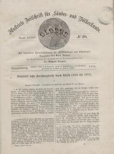 Globus. Illustrierte Zeitschrift für Länder...Bd. XXXIV, Nr.20, 1878