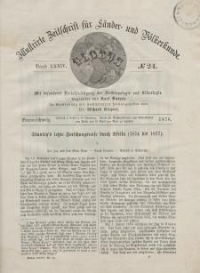 Globus. Illustrierte Zeitschrift für Länder...Bd. XXXIV, Nr.24, 1878