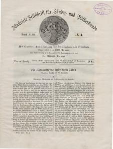 Globus. Illustrierte Zeitschrift für Länder...Bd. XLIII, Nr.4, 1883