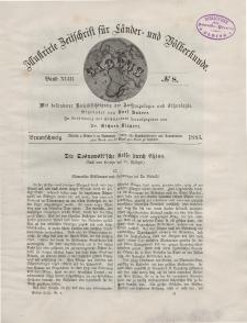 Globus. Illustrierte Zeitschrift für Länder...Bd. XLIII, Nr.8, 1883