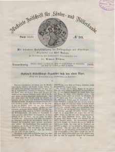 Globus. Illustrierte Zeitschrift für Länder...Bd. XLIII, Nr.10, 1883