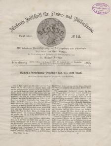 Globus. Illustrierte Zeitschrift für Länder...Bd. XLIII, Nr.12, 1883