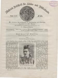 Globus. Illustrierte Zeitschrift für Länder...Bd. XLIII, Nr.20, 1883