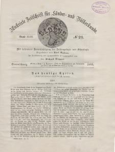 Globus. Illustrierte Zeitschrift für Länder...Bd. XLIII, Nr.23, 1883