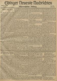 Elbinger Neueste Nachrichten, Nr.60 Dienstag 2 März 1915 67. Jahrgang