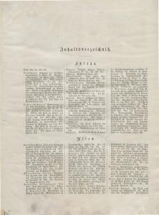 Globus. Illustrierte Zeitschrift für Länder...(Inhaltsverzeichniß), 1882