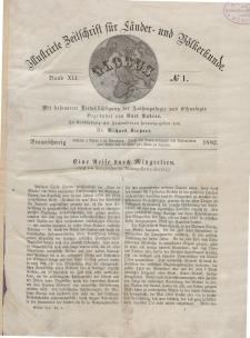 Globus. Illustrierte Zeitschrift für Länder...Bd. XLI, Nr.1, 1882