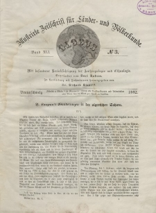 Globus. Illustrierte Zeitschrift für Länder...Bd. XLI, Nr.3, 1882