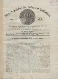 Globus. Illustrierte Zeitschrift für Länder...Bd. XLI, Nr.4, 1882