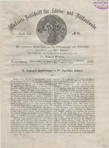 Globus. Illustrierte Zeitschrift für Länder...Bd. XLI, Nr.6, 1882