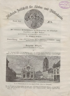 Globus. Illustrierte Zeitschrift für Länder...Bd. XLI, Nr.8, 1882