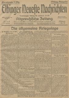 Elbinger Neueste Nachrichten, Nr.61 Montag 3 März 1915 67. Jahrgang