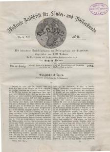 Globus. Illustrierte Zeitschrift für Länder...Bd. XLI, Nr.9, 1882