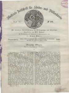 Globus. Illustrierte Zeitschrift für Länder...Bd. XLI, Nr.10, 1882