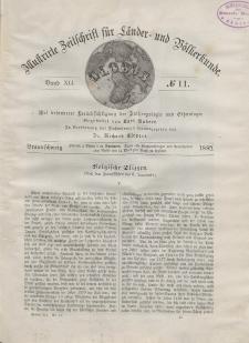 Globus. Illustrierte Zeitschrift für Länder...Bd. XLI, Nr.11, 1882