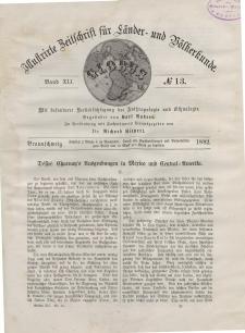 Globus. Illustrierte Zeitschrift für Länder...Bd. XLI, Nr.13, 1882