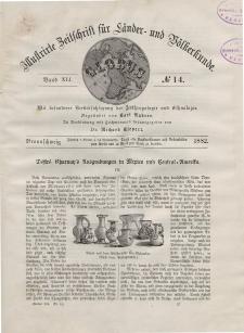 Globus. Illustrierte Zeitschrift für Länder...Bd. XLI, Nr.14, 1882