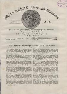 Globus. Illustrierte Zeitschrift für Länder...Bd. XLI, Nr.15, 1882