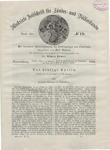 Globus. Illustrierte Zeitschrift für Länder...Bd. XLI, Nr.19, 1882