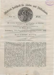 Globus. Illustrierte Zeitschrift für Länder...Bd. XLI, Nr.21, 1882
