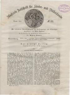 Globus. Illustrierte Zeitschrift für Länder...Bd. XLI, Nr.22, 1882